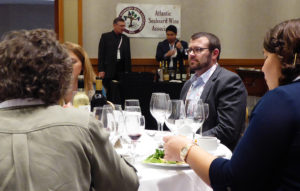 The BevX luncheon for attendees was an additional venue in which to showcase Atlantic Seaboard wines.