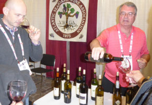 BevX provides a great opportunity for trade people from all over to sample Atlantic Seaboard wines.