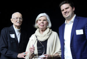 Person of the Year Award was accepted by Frank Britt's widow June.
