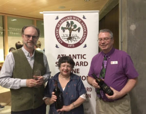 Dr. Andrew L. Waterhouse, Director of the Robert Mondavi Institute of Wine and Food Science and professor of viticulture and enology at UC Davis with Anne Marie Vercelli and Dave Barber.